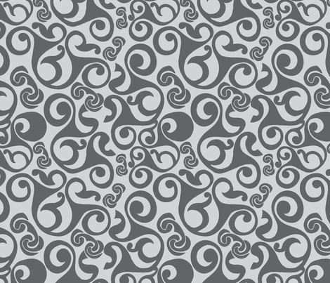 Abstract Celtic Pattern Fabric Suziedesign Spoonflower