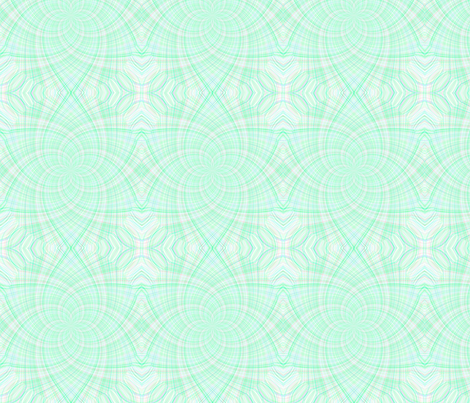 Lime mint fabric by watercolourdesign on Spoonflower - custom fabric