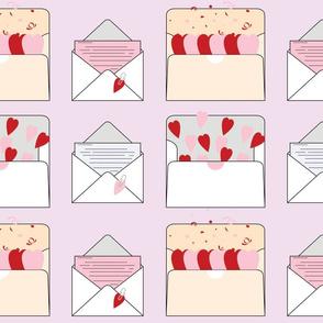 Love Letters Purple