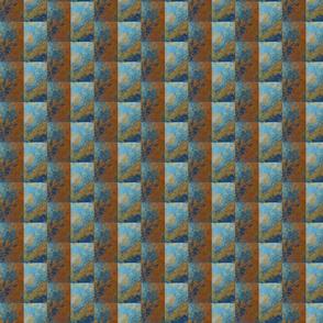 Gourd Stripes at a half drop repeat