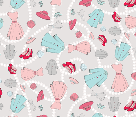 A Night at the Theater fabric by beccaliz on Spoonflower - custom fabric