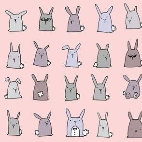 Bunnies (pink)