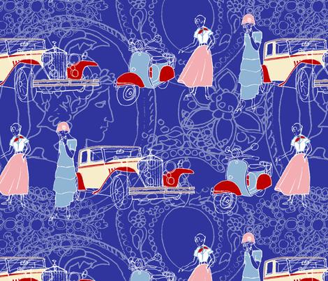 1948 fabric by koko_hunt on Spoonflower - custom fabric
