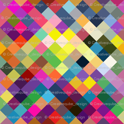 Colorblock diamonds