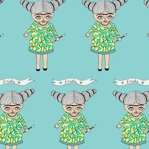 Frida (Turquoise)