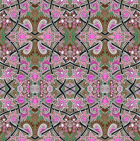 Stardust Spring fabric by edsel2084 on Spoonflower - custom fabric