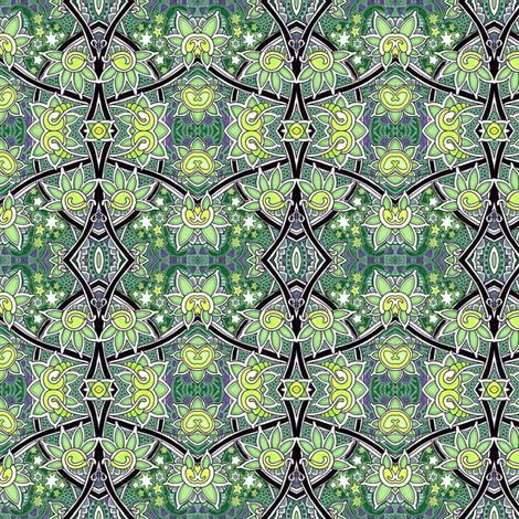 Under the Influence of Stardust fabric by edsel2084 on Spoonflower - custom fabric