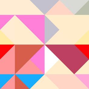 Upsized triangles