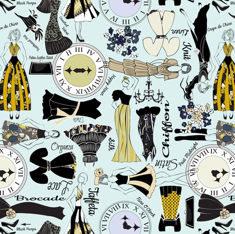 Fashion Fair fabric by mag-o on Spoonflower - custom fabric