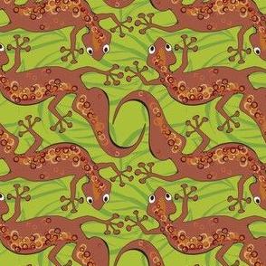 Gecko shuffle