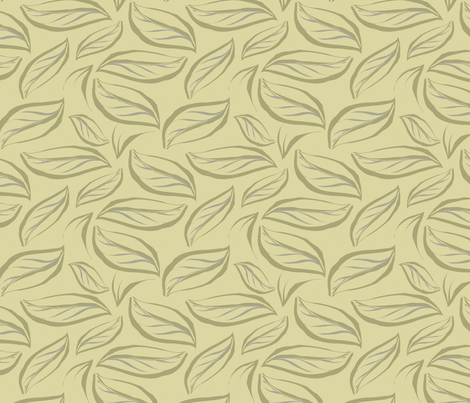 Leaves breeze fabric by bippidiiboppidii on Spoonflower - custom fabric