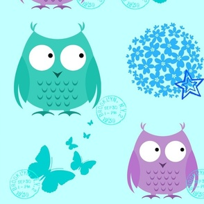 Owl Stamps
