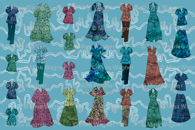 Batik Fashions - check swatch view to see fabric textures