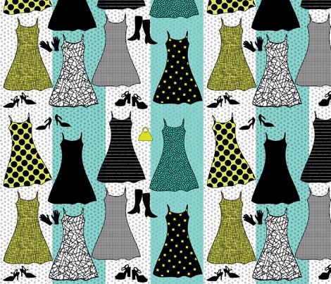 retro_fashion fabric by reginamartinedesign on Spoonflower - custom fabric