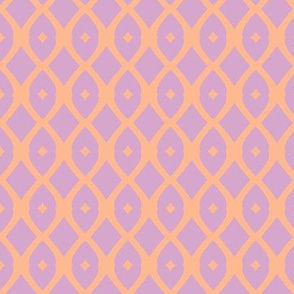 Chain Link 22 (lilac, tangerine)sm