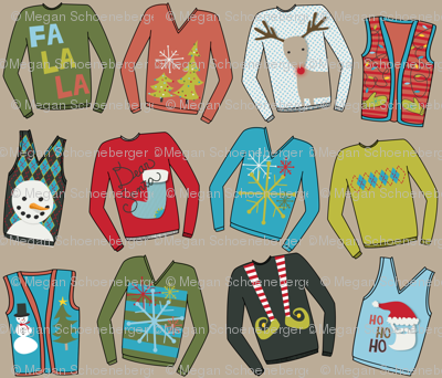Fashion Disasters: Christmas Sweaters