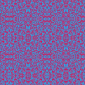 Red and Blue Plasma Pattern