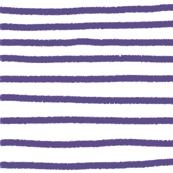 Sketchy Stripes // Ultraviolet
