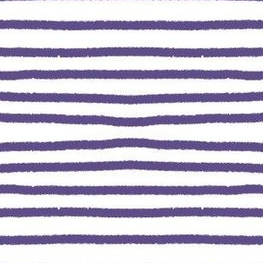 Sketchy Stripes // Ultraviolet