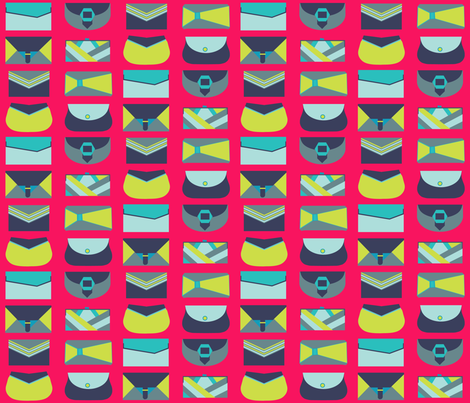 Clutch of clutches fabric by garviek on Spoonflower - custom fabric