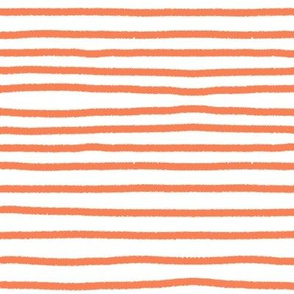 Sketchy Stripes // Persimmon