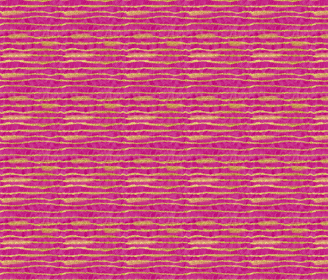 Gold Glitter Stripes + Fuchsia  fabric by theartwerks on Spoonflower - custom fabric