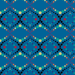 Moroccan Tiles in Blue