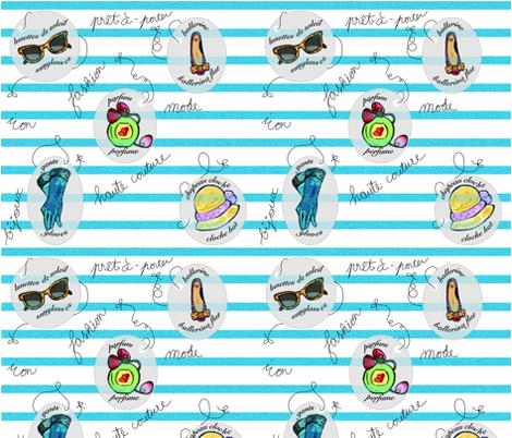 Mode_essentials fabric by yasminah_combary on Spoonflower - custom fabric