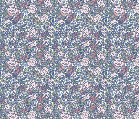 Floral 01 fabric by nikijin on Spoonflower - custom fabric
