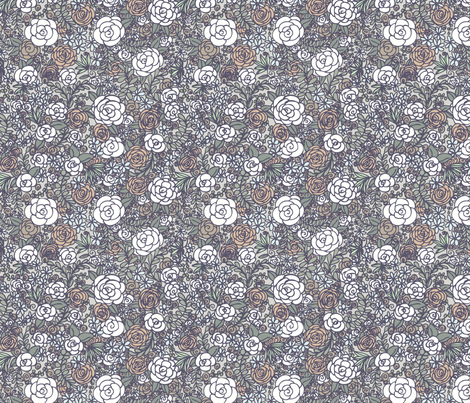 Floral 02 fabric by nikijin on Spoonflower - custom fabric