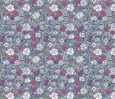 Floral 03 fabric by nikijin on Spoonflower - custom fabric