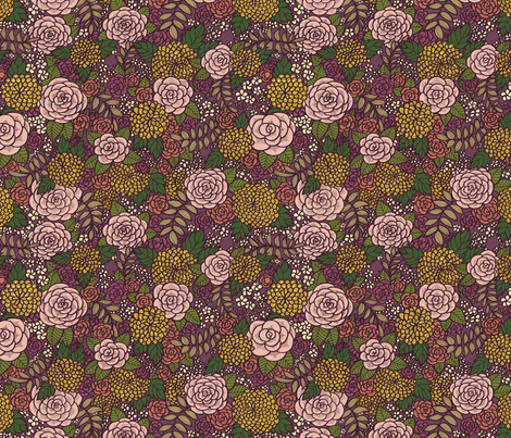 Floral 05 fabric by nikijin on Spoonflower - custom fabric
