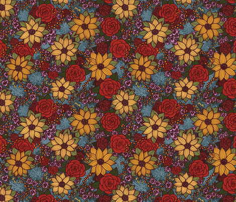 Floral 06 fabric by nikijin on Spoonflower - custom fabric
