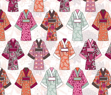 kimono fabric by cjldesigns on Spoonflower - custom fabric