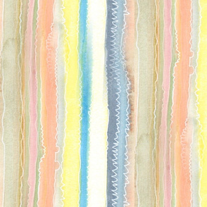 Scribbled Stripes large