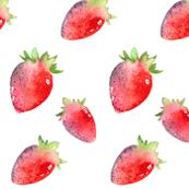 Tumbling Strawberries