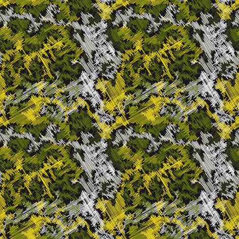 Cistus (green) fabric by vannina on Spoonflower - custom fabric