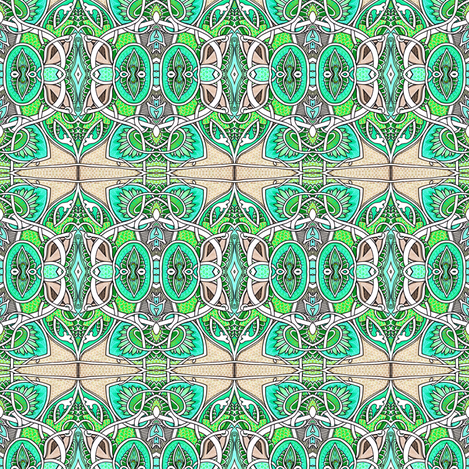 Just Bloom fabric by edsel2084 on Spoonflower - custom fabric