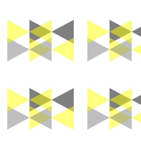 Bowtie  fabric by interiørbazar on Spoonflower - custom fabric