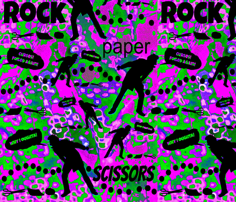 Psychedelic Combat fabric by whimzwhirled on Spoonflower - custom fabric