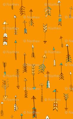 arrows are orange!