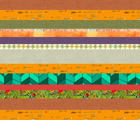 stripeTALL fabric by narthex on Spoonflower - custom fabric