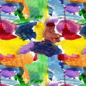 Addie's watercolor pattern