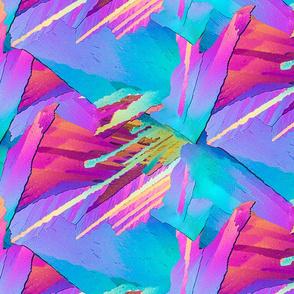 Crystal Neon Hightops Halfdrop
