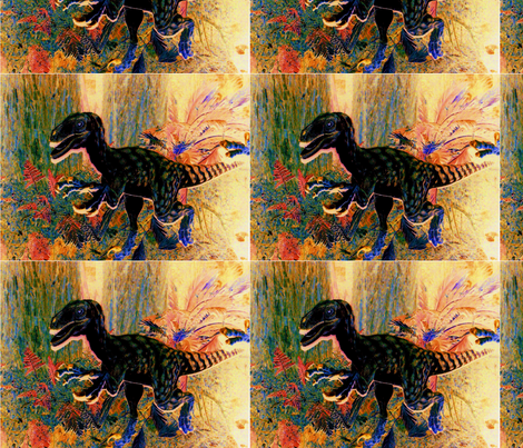 dinosaur fabric by luckyboy1 on Spoonflower - custom fabric