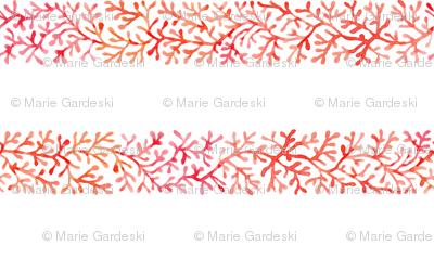 Branch Stripe | Red/White