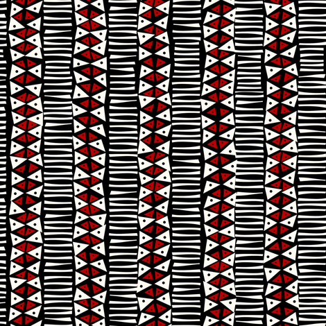 Triangulated: to put it another way fabric by bippidiiboppidii on Spoonflower - custom fabric