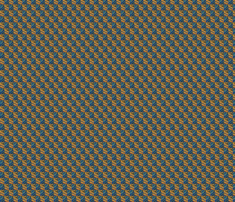 orange and blue fabric by v-kat on Spoonflower - custom fabric