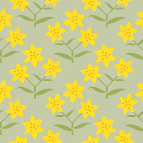 St John's wort, big pattern