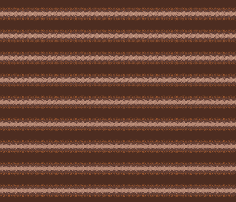 Brown Horizontal Stripe with Circles fabric by gingezel on Spoonflower - custom fabric